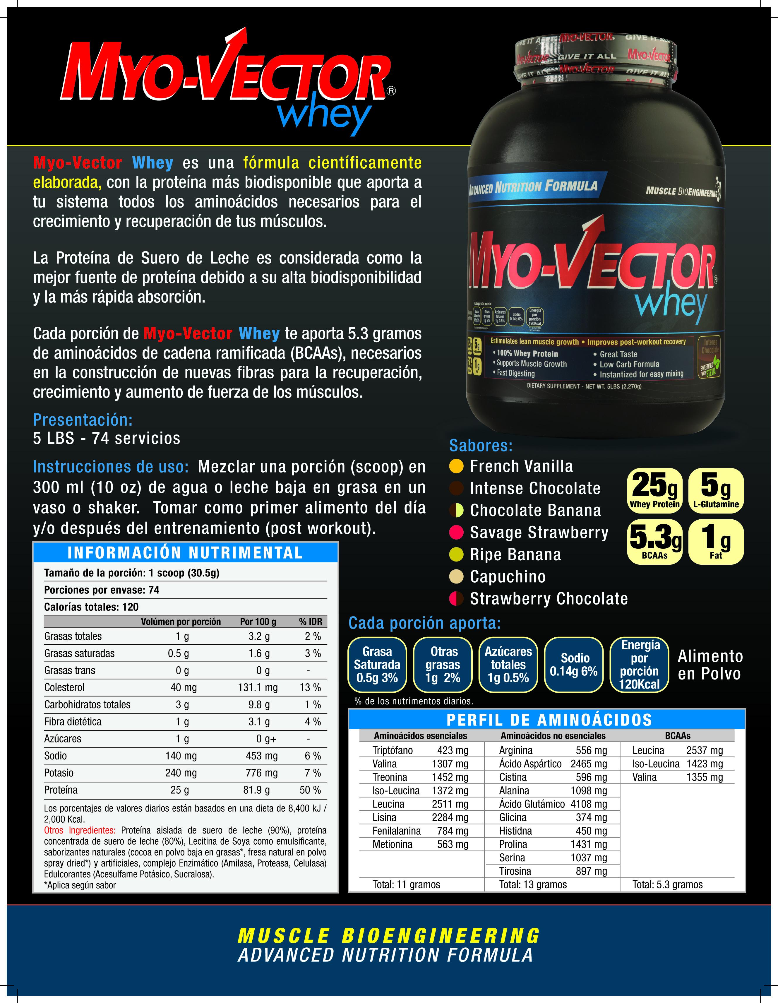 Myo-Vector Whey   Myo-Vector